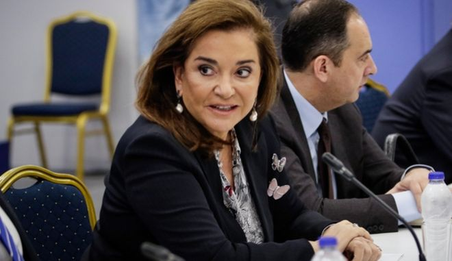 Η πρώην υπουργός Εξωτερικών, Ντόρα Μπακογιάννη