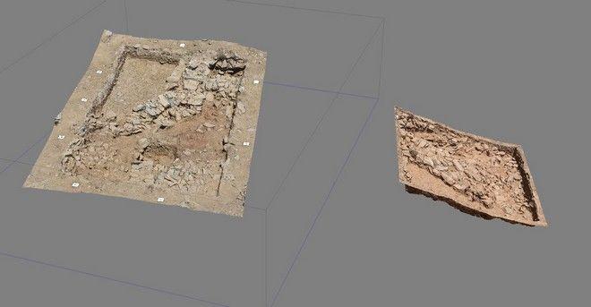 Φωτογραφία που δόθηκε σήμερα στη δημοσιότητα και εικονίζει αρχιτεκτονικά και άλλα ακίνητα κατάλοιπα. Ένας σημαντικός προϊστορικός οικισμός αποκαλύπτεται έπειτα από συστηματική ανασκαφική έρευνα δύο ετών στη θέση «Γκουριμάδι», στα περίχωρα της Καρύστου. Ο οικισμός, μία εγκατάσταση που ιδρύθηκε σε μια φυσικά οχυρή θέση, καταλαμβάνει τμήμα του ομώνυμου βραχώδους λόφου που βρίσκεται στα όρια της πεδιάδας του Κατσαρωνίου. Οι εργασίες, που έως τώρα επικεντρώνονται στο πλάτωμα της κορυφής του λόφου και στο νότιο κομμάτι αυτής έχουν αποδώσει ενδιαφέροντα αρχιτεκτονικά και άλλα ακίνητα κατάλοιπα, καθώς επίσης και πλήθος κινητών ευρημάτων. Συγκεκριμένα, στο πλάτωμα της κορυφής αποκαλύφθηκαν πολυάριθμοι, ευθύγραμμοι και καμπύλοι, λιθόκτιστοι τοίχοι οι οποίοι με βάση την στρωματογραφική τους συνάφεια μπορούν να αποδοθούν σε διαφορετικές αρχιτεκτονικές φάσεις της προϊστορικής κατοίκησης.