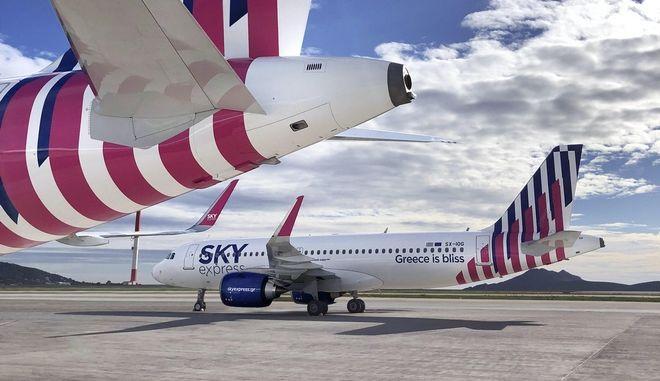 Sky express: Επενδύσεις σε νέα Airbus, προσθέτει Λονδίνο, Παρίσι και νέους προορισμούς στην Ελλάδα