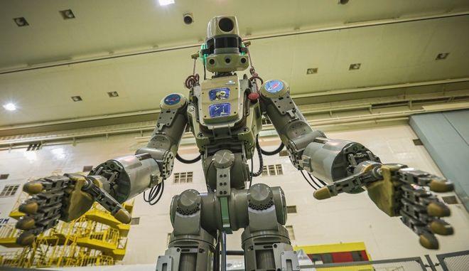 Φιόντορ, το πρώτο ανθρωποειδές ρομπότ που ταξιδεύει στο διάστημα
