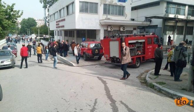 Θεσσαλονίκη: Φωτιά σε υπόγειο του ΑΠΘ
