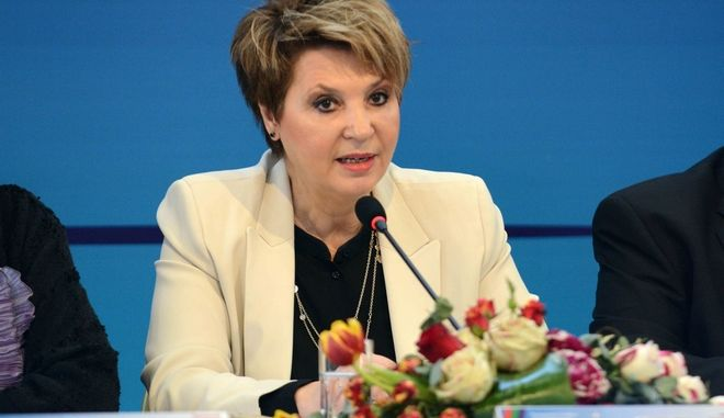 Η υπουργός Διοικητικής Ανασυγκρότησης Όλγα Γεροβασίλη