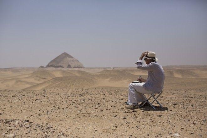 Η πυραμίδα για τον φαραώ Σνεφρού στο Νταχσούρ της Αιγύπτου η οποία άνοιξε για πρώτη φορά για το κοινό από το 1965