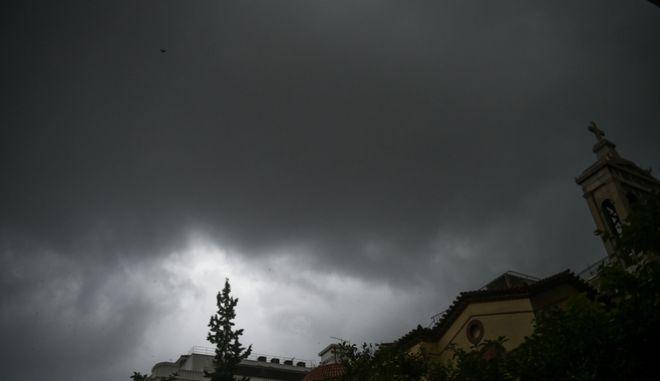 Καταιγίδα στην Αθήνα. Φωτό αρχείου.