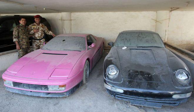 Τα πανάκριβα αυτοκίνητα του υιού Χουσεΐν