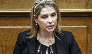 Η ανεξάρτητη βουλευτής Κατερίνα Παπακώστα