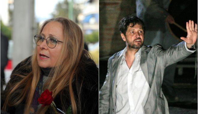 """Μαρίζα Κωχ και Αιμίλιος Χειλάκης στην εκπομπή της Ιωάννας Κλεφτόγιαννη, """"Πεζοί στον Αέρα"""""""