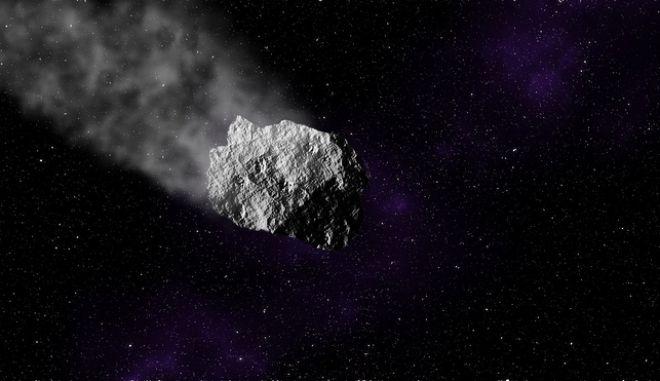 Αστεροειδής κινείται στο διάστημα