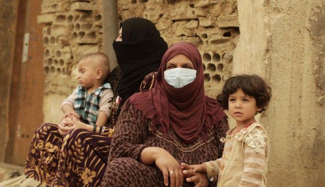 Πρόσφυγες από τη Συρία στον Λίβανο