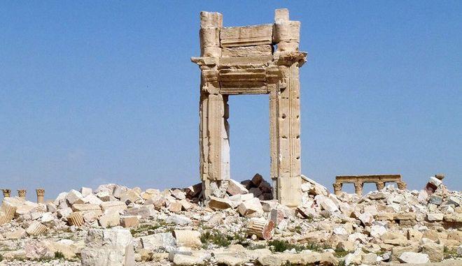 Παλμύρα: Θα χρειαστούν 5 χρόνια για την αποκατάσταση των κατεστραμμένων μνημείων