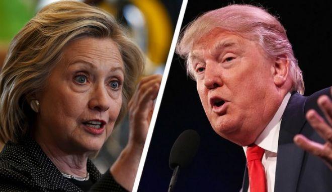 ΗΠΑ: Προβάδισμα 6 μονάδων της Χίλαρι έναντι του Τραμπ