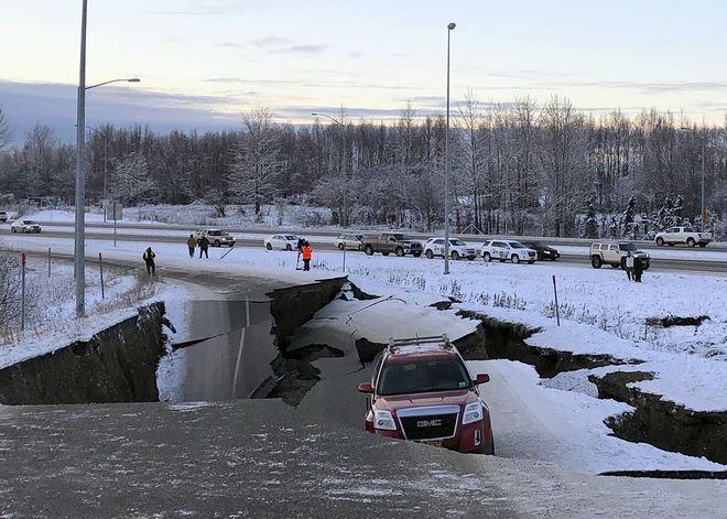 Τυχερός μέσα στην ατυχία του ο οδηγός του συγκεκριμένου SUV