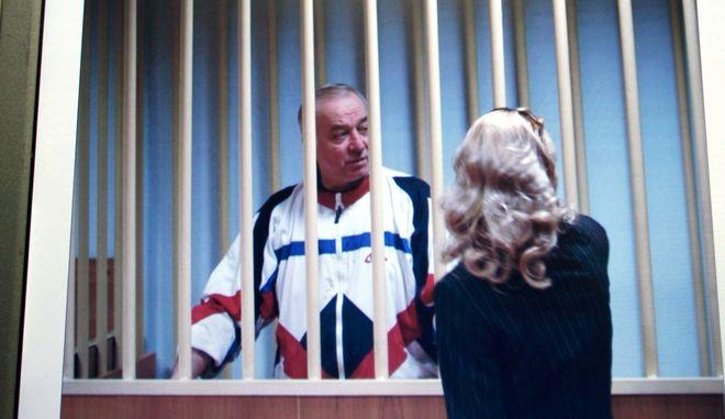 Ο Σεργκέι Σκριπάλ σε παλαιότερη φωτογραφία από δικαστήριο στη Μόσχα