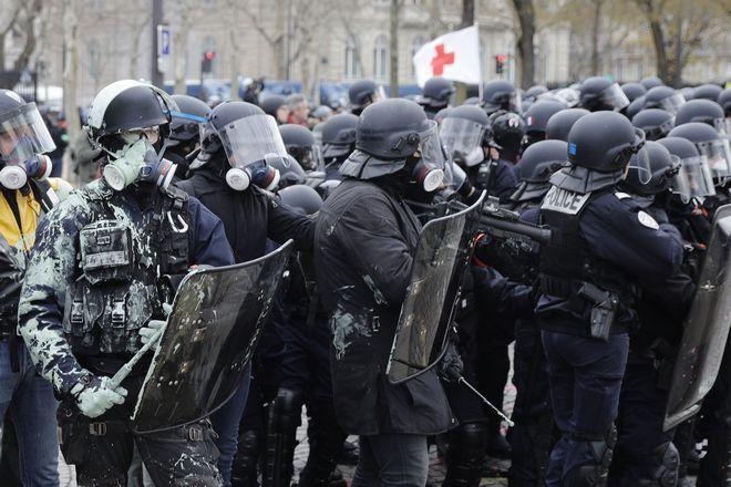Δυνάμεις ασφαλείας της Γαλλικής αστυνομίας