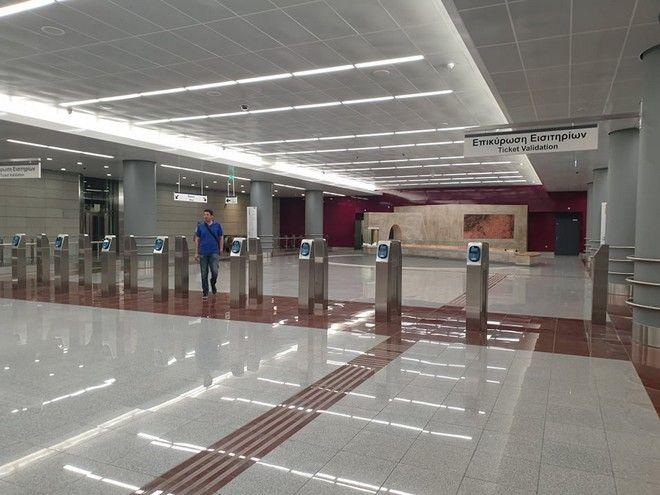 Το Μετρό της Αθήνας μεγαλώνει μετά από 6,5 χρόνια- Εγκαινιάστηκε η επέκταση μέχρι τη Νίκαια