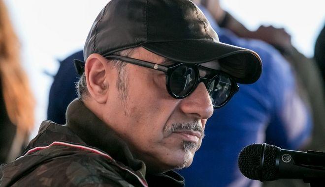 """Συνελήφθη ο Νότης Σφακιανάκης - """"Έχω όπλο γιατί κινδυνεύω"""""""