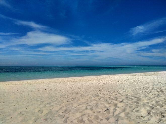 Η κατάλευκη παραλία στο Cayo Levisa, στην δυτική Κούβα