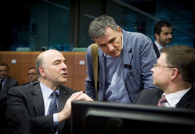 Συνεδρίαση του Eurogroup την Τρίτη 24 Μαΐου 2016, στις Βρυξέλλες. (EUROKINISSI/ΕΥΡΩΠΑΪΚΗ ΕΝΩΣΗ)