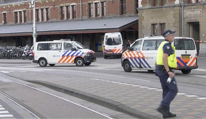 Αστυνομία στο Άμστερνταμ (φωτογραφία αρχείου)