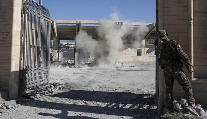 Έκρηξη σε κτίριο στο Ιράκ (φωτογραφία αρχείου)