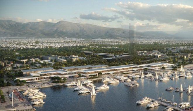 Η Lamda Development παρουσιάζει το παράκτιο μέτωπο του Ελληνικού και τη Marina Galleria, τον νέο προορισμό στην Αθηναϊκή Ριβιέρα