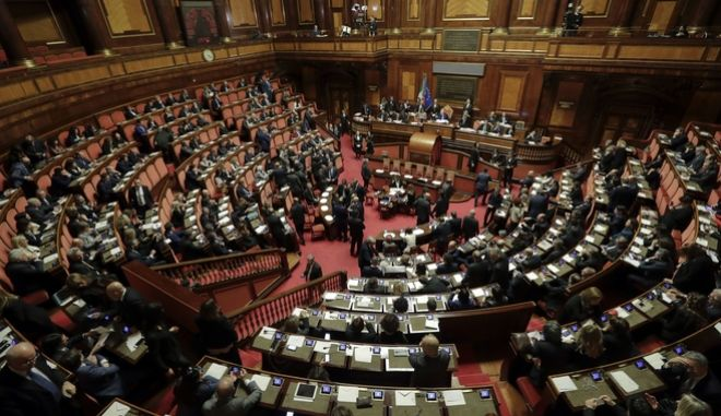 Το ιταλικό κοινοβούλιο.