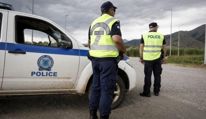 Μπλόκο της αστυνομίας (φωτό αρχείου)