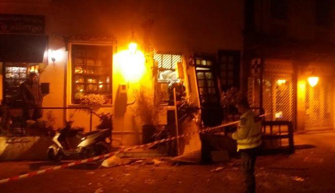 Έκρηξη σε ταβέρνα στη Μυτιλήνη