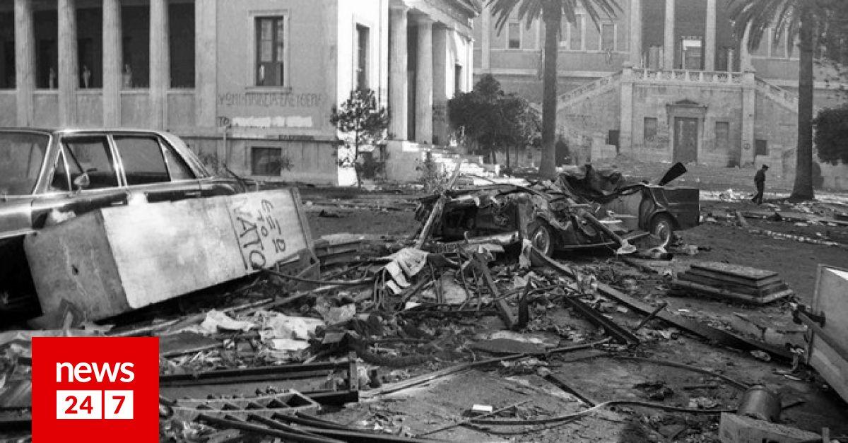 Οι 24 νεκροί του Πολυτεχνείου: Τα σημεία που έχασαν την ζωή τους σε χάρτη - news247 | News 24/7