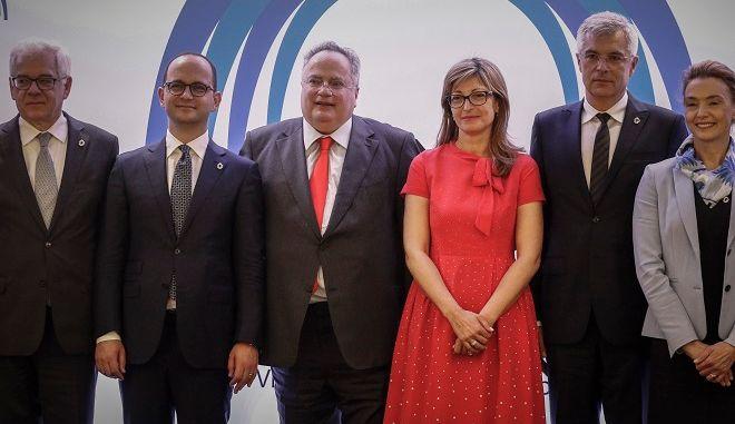 2η Υπουργική Συνάντηση των χωρών του Visegrad (Ουγγαρία, Δημοκρατία της Τσεχίας, Σλοβακία και Πολωνία) καθώς και των Βαλκανικών κρατών μελών της ΕΕ (Ελλάδα, Βουλγαρία, Ρουμανία και Κροατία) την Παρασκευή 11 Μαΐου 2018, στο Σούνιο.
