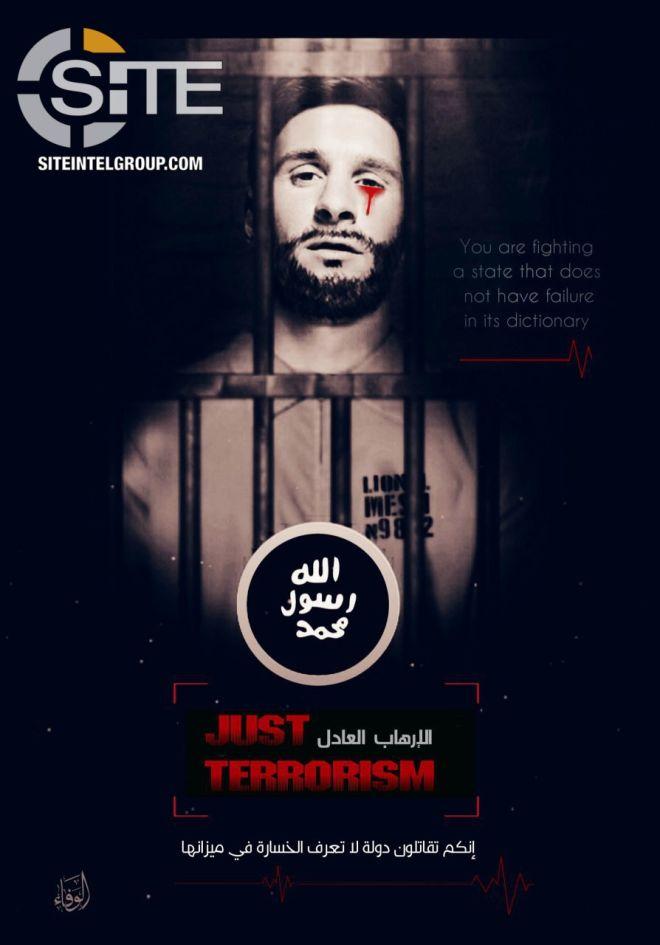 Το Ισλαμικό Κράτος απειλεί το Μουντιάλ της Ρωσίας και βάζει 'στόχο' τον Μέσι