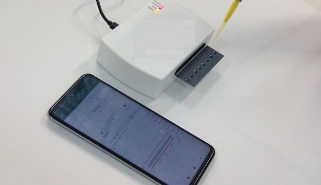 Πρωτοποριακό στιγμιαίο self test κορονοϊού μέσω κινητού από το Γεωπονικό Πανεπιστήμιο Αθηνών