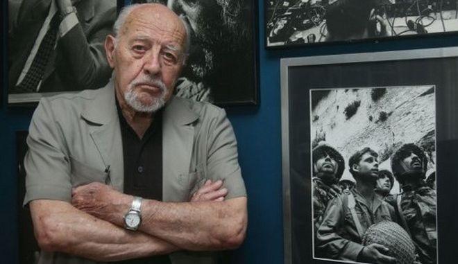 Πέθανε στα 92 του ο βετεράνος φωτογράφος Νταβίντ Ρούμπινγκερ