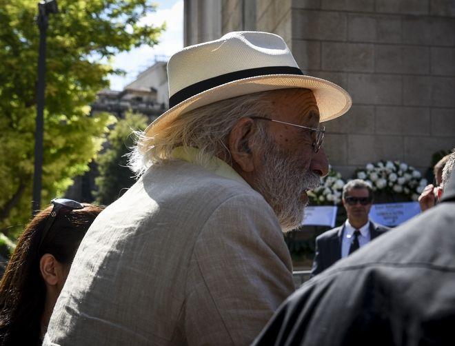 Ο Αλέξανδρος Λυκουρέζος στην κηδεία του Σωκράτη Σ. Κόκκαλη