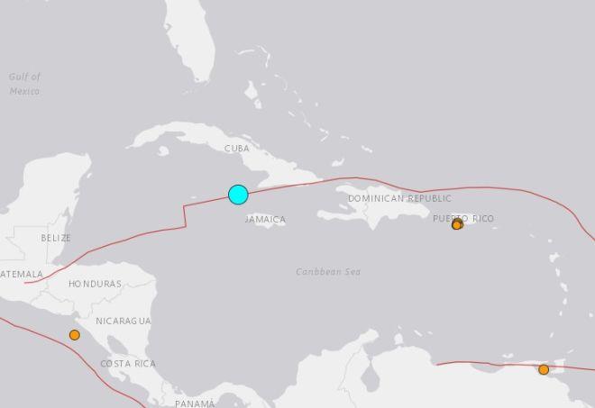 Σεισμός στην Κούβα
