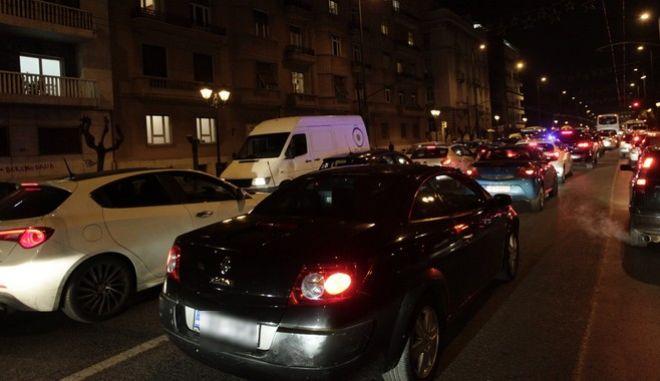 Κυκλοφοριακό χάος στην Αθήνα