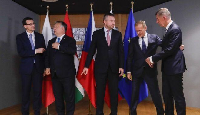 Στιγμιότυπο από τη Σύνοδο Κορυφής της 28ης Μαΐου