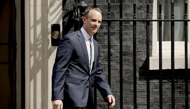 Ο νέος Υπουργός Αρμόδιος για το brexit, Ντομινίκ Ράαμπ