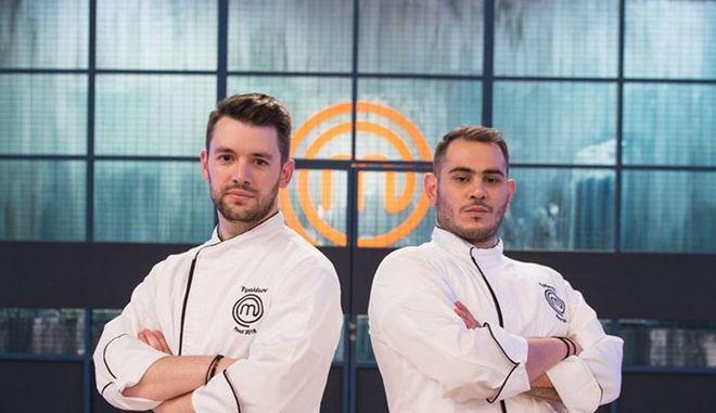 Οι δυο φιναλίστ του Master Chef, Χρήστος και Τιμολέων