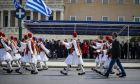 Μαθητική παρέλαση για την επέτειο της 25ης Μαρτίου 1821 στην Αθήνα