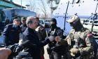 Με αφορμή την ανάπτυξη των δυνάμεων του FRONTEX στον Έβρο ο Υπουργός Προστασίας του Πολίτη Μιχάλης Χρυσοχοΐδης επισκέφθηκε την περιοχή