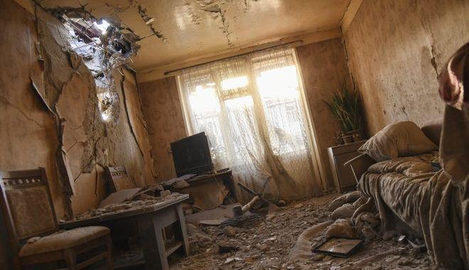 Κατεστραμμένο σπίτι στο Στεπανακέρτ