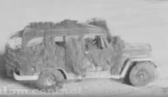 Ιστορικό ντοκουμέντο: Δοκιμή πυρηνικής βόμβας ισοπεδώνει αυτοκίνητο