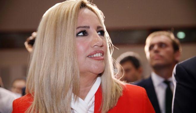 Η επικεφαλής του Κινήματος Αλλαγής Φώφη Γεννηματά.