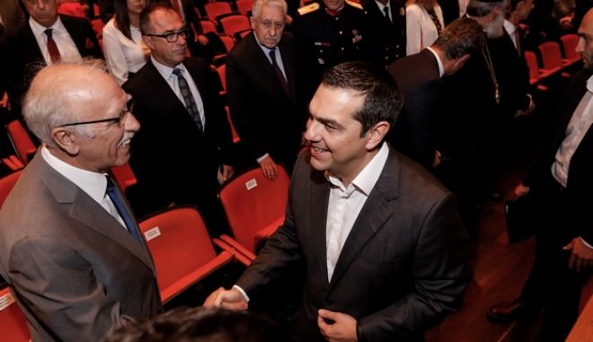 Εορταστική εκδήλωση της Πολεμικής Αεροπορίας, απήυθυνε χαιρετισμό ο Πρωθυπουργός Αλέξης Τσίπρας. Τετάρτη 7 Νοεμβρίου 2018  (EUROKINISSI/ΓΙΩΡΓΟΣ ΚΟΝΤΑΡΙΝΗΣ)