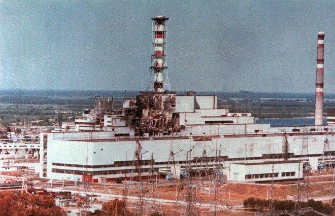 Το Τσέρνομπιλ μετά το πυρηνικό δυστύχημα τον Απρίλιο του 1986