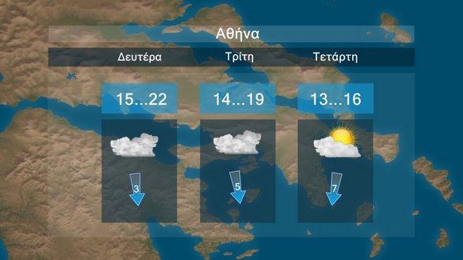 Καιρός: Βροχές μετά την καλοκαιρία του Πάσχα