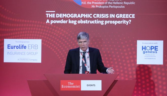 Η Eurolife ERB για τη δημογραφική κρίση στην Ελλάδα, στο συνέδριο του The Economist