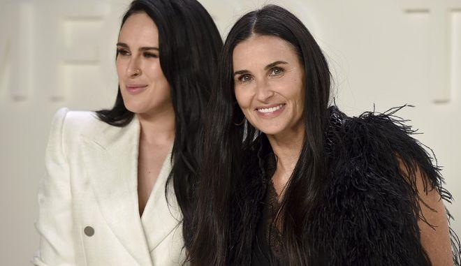Ντέμι Μουρ: Στην Ελλάδα με την κόρη της - Για ψώνια στο Κολωνάκι