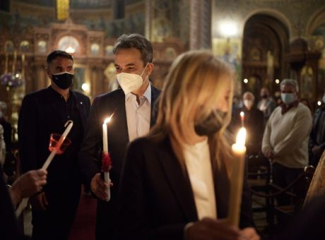 Μήνυμα του πρωθυπουργού Κυριάκου Μητσοτάκη: Το Θείο Φως γίνεται ήλιος αισιοδοξίας - Πολιτική | News 24/7